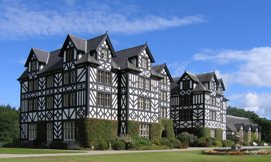 Gregynog Halls - the famous picture that everyone might use on their blog.