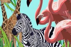 Safari animal design