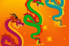 Dragons design: Chinese culture project design