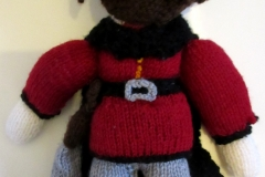 Roehm knitted doll: Infamous Quests