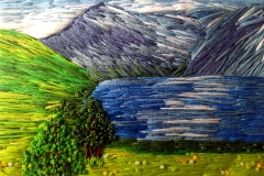 Lake district embroidery