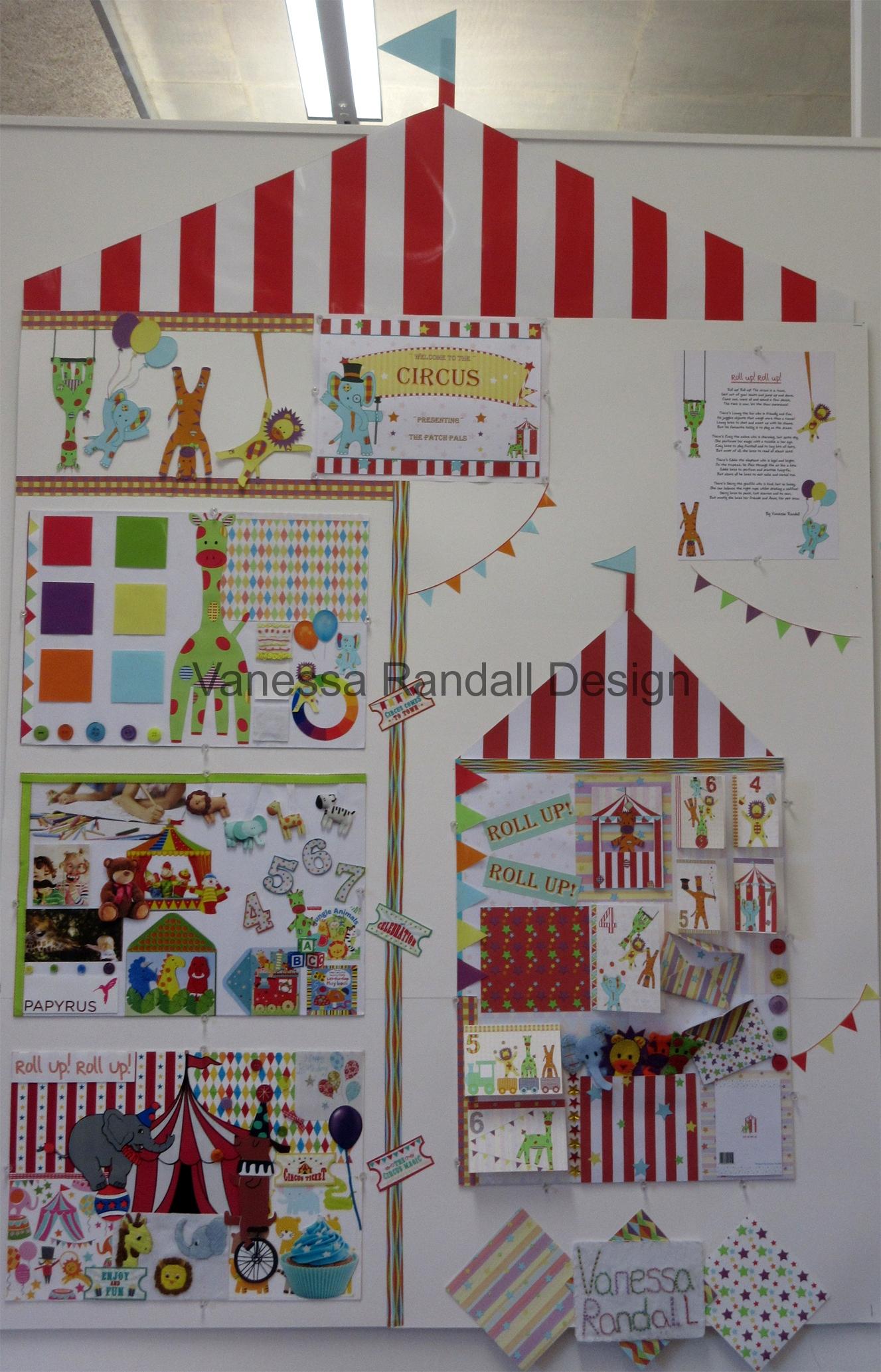 Circus board display