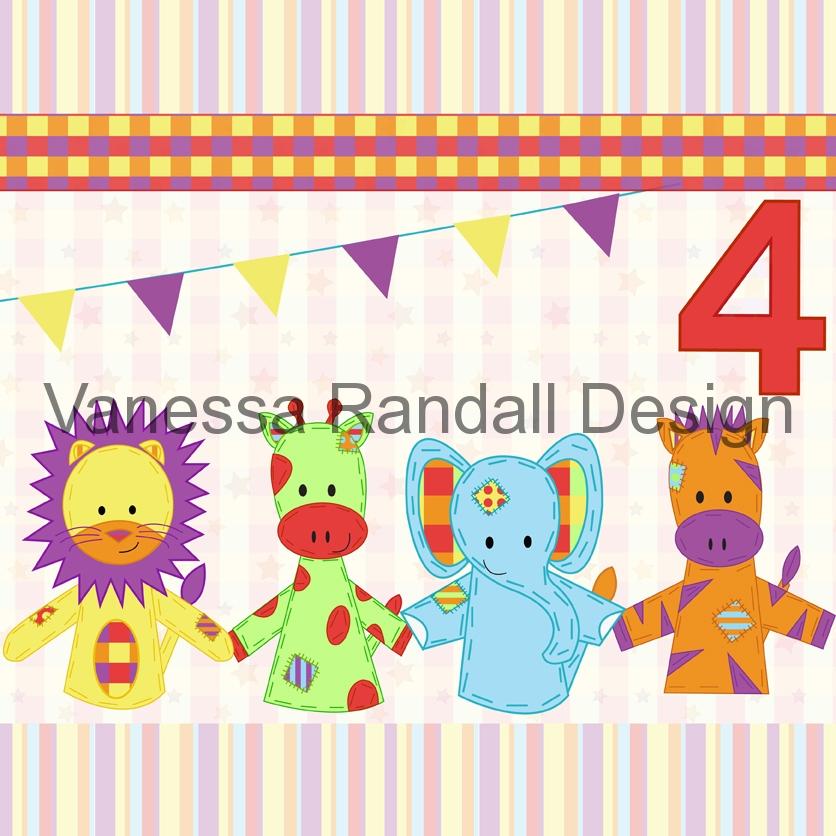 Puppet card design