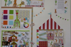 Circus board display