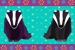 Badger border design