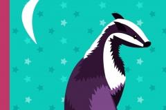 Badger pillow design