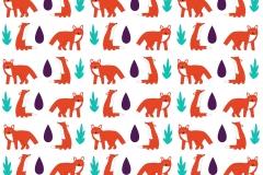 Fox curtain design