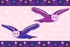 Owl border design