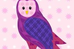 Owl duvet design
