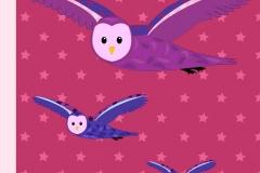 Owl pillow design