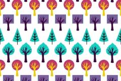 Tree duvet design